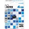 Карта памяти microSDHC  4Гб Mirex 13612-MCROSD04