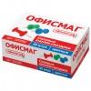 Силовые кнопки-гвоздики ОФИСМАГ, цветные, 50 шт., в картонной коробке., 222092