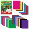 Набор цветного картона и бумаги А4 немелованные, 16 + 10 цветов склейка HATBER VK, 195х275 мм, Щенки, 26НКБ4к 05284, N133835