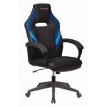 Кресло игровое VIKING-3 AERO Чёрное/синее